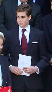 Charles Armstrong-Jones, Viscount Linley, 7 avril 2017, Service pour Anthony Armstrong-Jones, Lord Snowden (St Margaret's Church, Westminster Abbey)