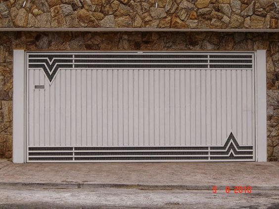 Decor Salteado - Blog de Decoração | Arquitetura | Construção | Paisagismo: Portão - modelos e dicas!: