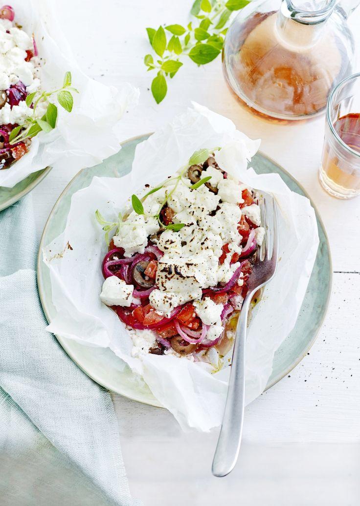 Recept van Pascale Naessens: Groenten uit de oven met feta