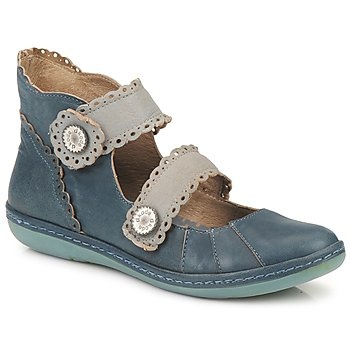 Ballerinas Dkode NANI Blue / Blue. I'd really enjoy wearing these. Interesting and subtle, but not precious.