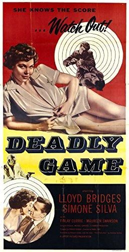 The Deadly Game AKA Third Party Risk (1954) - Lloyd Bridges DVD
