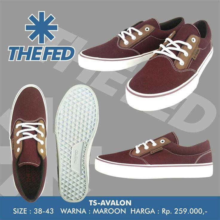 THE FED TS-AVALON Maroon