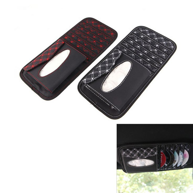 6 tablets Car CD Case Receive Bag For CD Holder Auto Accessories Car Decorate #OEMGOODQUANLITY