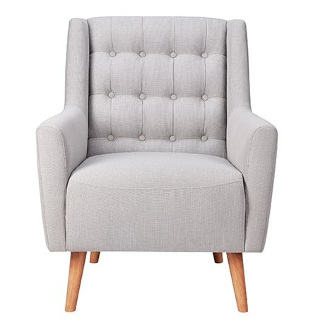 Armchair ideas - Grayson Chair | Freedom Furniture and Homewares ... LOVE THIS CHAIR!! In black leather.