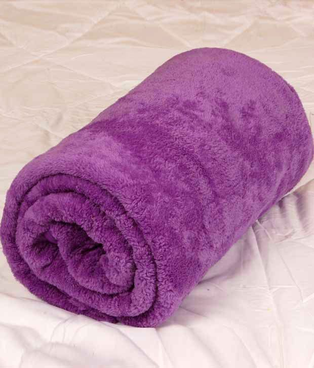 Indigo Purple Double Bed Coral Blanket, http://www.snapdeal.com/product/indigo-purple-double-bed-coral/1283833601