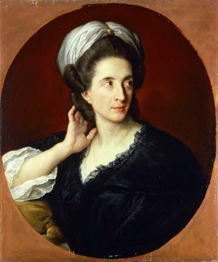 Portrait of Mrs Robert Sandilands, 1781 by Pompeo Batoni (Italian 1708–1787)