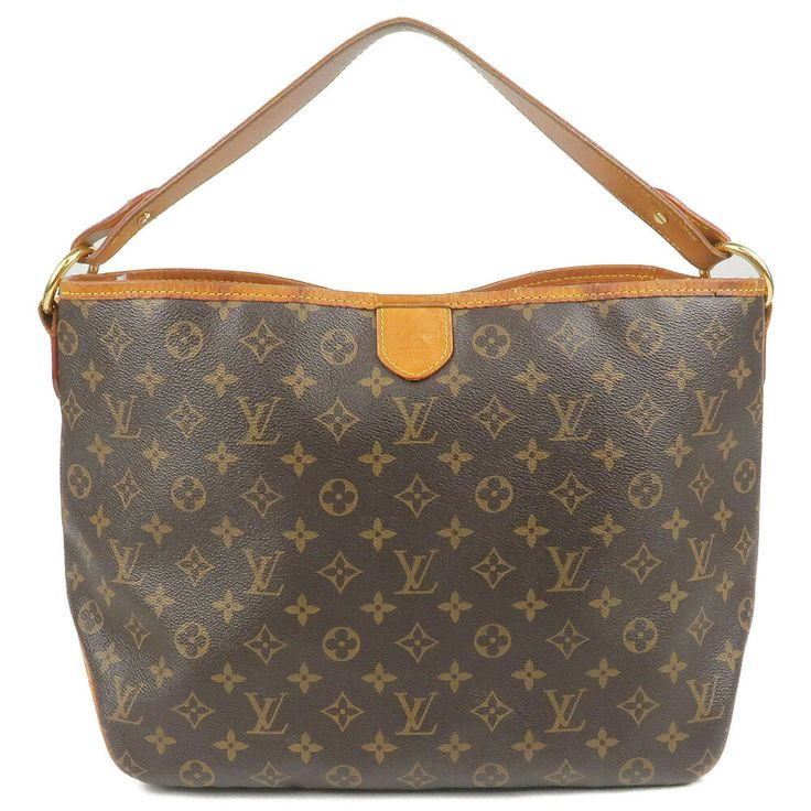 3d22ec321e5 Authentic Louis Vuitton Monogram Delightful PM Shoulder Bag M40352 ...
