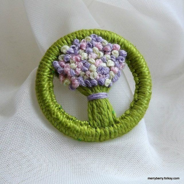 Brooch Dorset Button - Folksy | Craft Juice