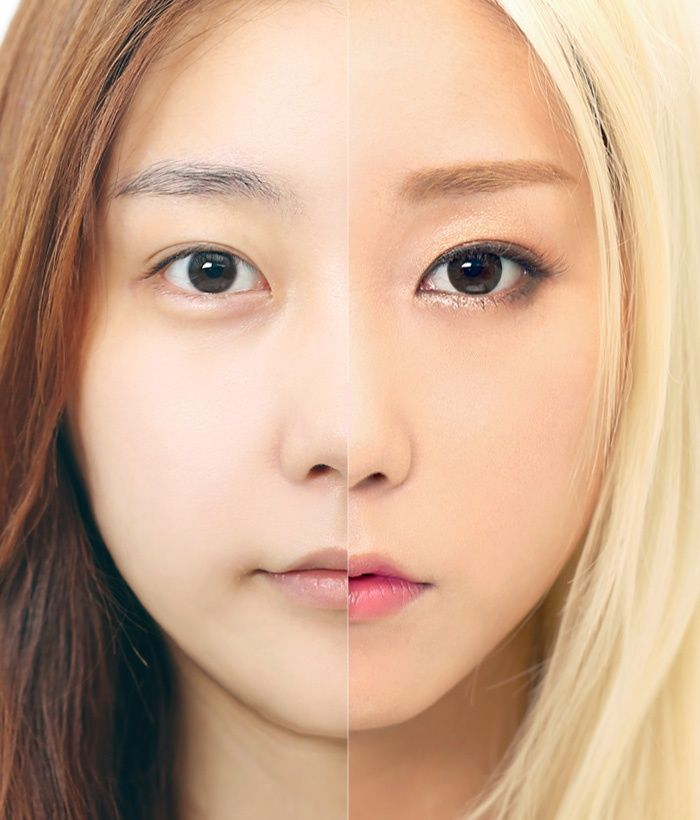 f(x) crystal make up! Before & After