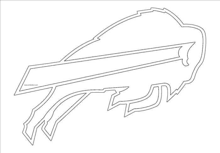 Nfl Logo Coloring Pages Printable Free Coloring Sheets Buffalo Bills Buffalo Bills Logo Nfl Logo