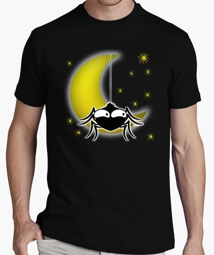 T-shirt SPIDER MOON