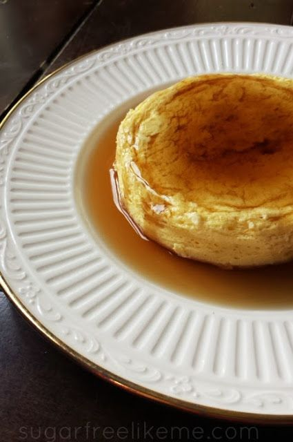 French Toast Egg Puff. A delicious low carb breakfast! Same recipe will make pancakes.