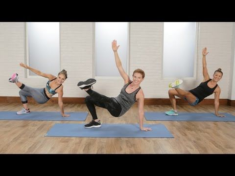 9/27/16 45-Minute Cardio and Toning Workout From Jennifer Lawrence's Trainer | Class FitSugar - YouTube