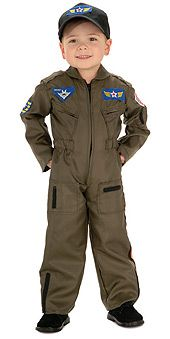 Toddler or BOYS Pilot Costume - Air Force