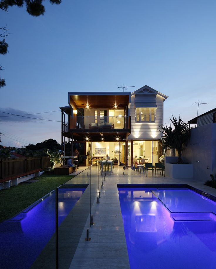 Old and new blend at Highgate Hill Residence in Brisbane, Australia by Shaun Lockyer Architects