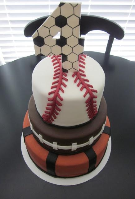 Best 25 Sport Cakes Ideas On Pinterest Baseball Theme