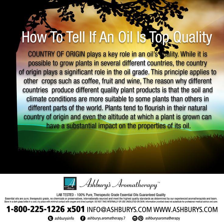 While it is possible to grow plants in several different countries, the country of origin plays a significant role in the oil grade. This principle applies to other  crops such as coffee, fruit and wine https://www.ashburys.com/  #ashburysaromatherapy