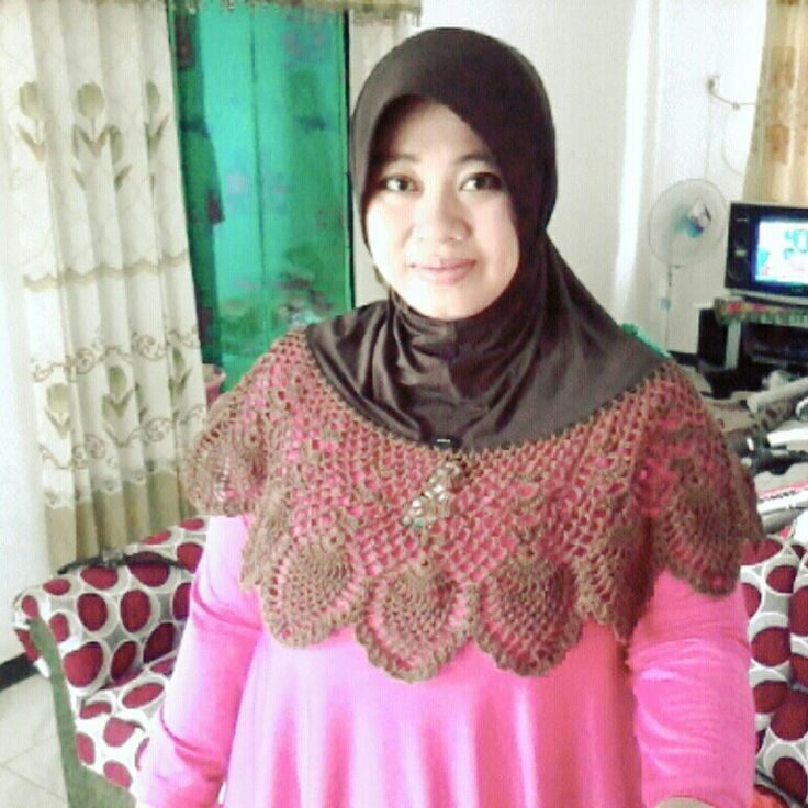 Crochet Hijab..crocheting..