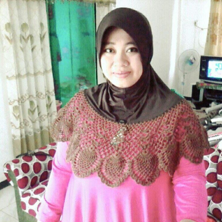 Crochet Hijab..crocheting..
