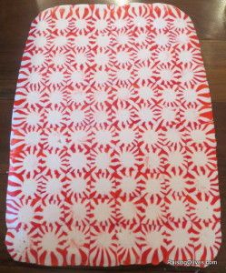 DIY Peppermint serving tray / DIY Christmas Craft / Turn peppermints into a serving tray! Just arrange on a cookie sheet lined with parchment paper & bake at 350 for 8-10 minutes. / - -Bookmark Your Local 14 day Weather FREE > http://www.weathertrends360.com/Dashboard No Ads or Apps or Hidden Costs