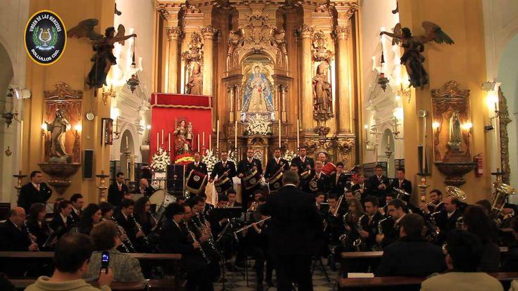 """Banda Virgen de las Mercedes """"Valle Coronada de Amor"""" Marcha de Procesión"""