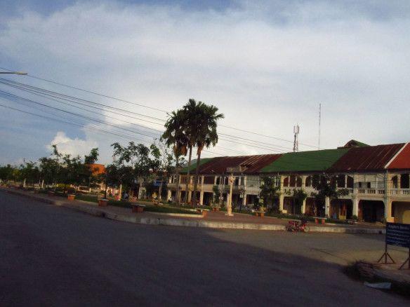 A pequena Kampot, no Camboja.