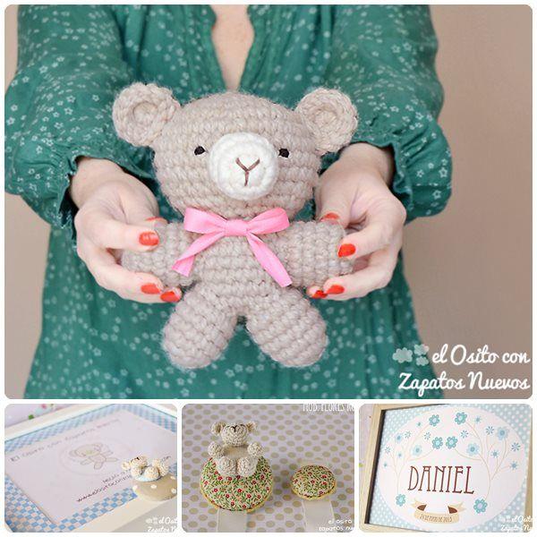 Amigurumis y regalos originales para bebés Amigurumis y regalos originales para bebés. El osito con zapatos nuevos es una tienda online de amigurumis y regalos originales para bebés, niños y mamás.