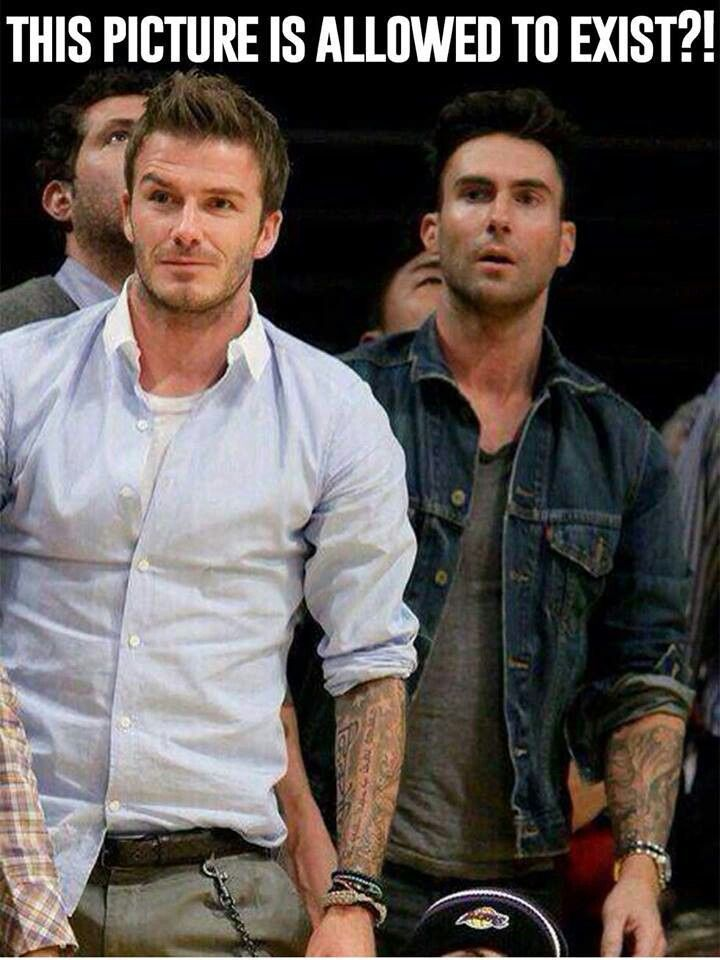 Not one but two gorgeous men tatted up!