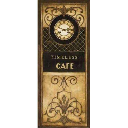 Posterazzi Timeless Cafe Canvas Art - Kimberly Poloson (24 x 48)