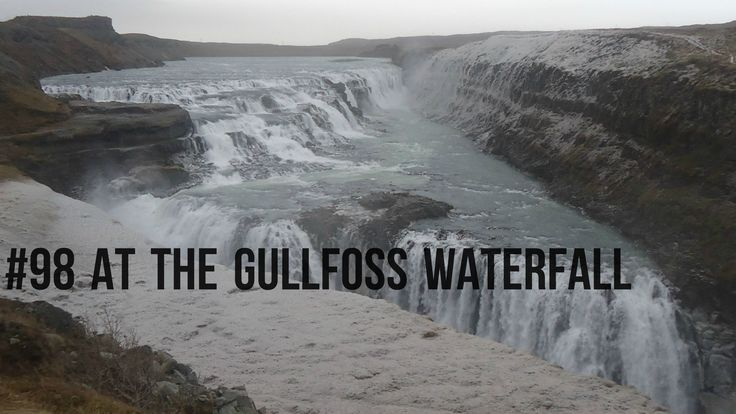At the #Gullfoss #Waterfall. #Iceland