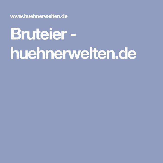 Bruteier - huehnerwelten.de