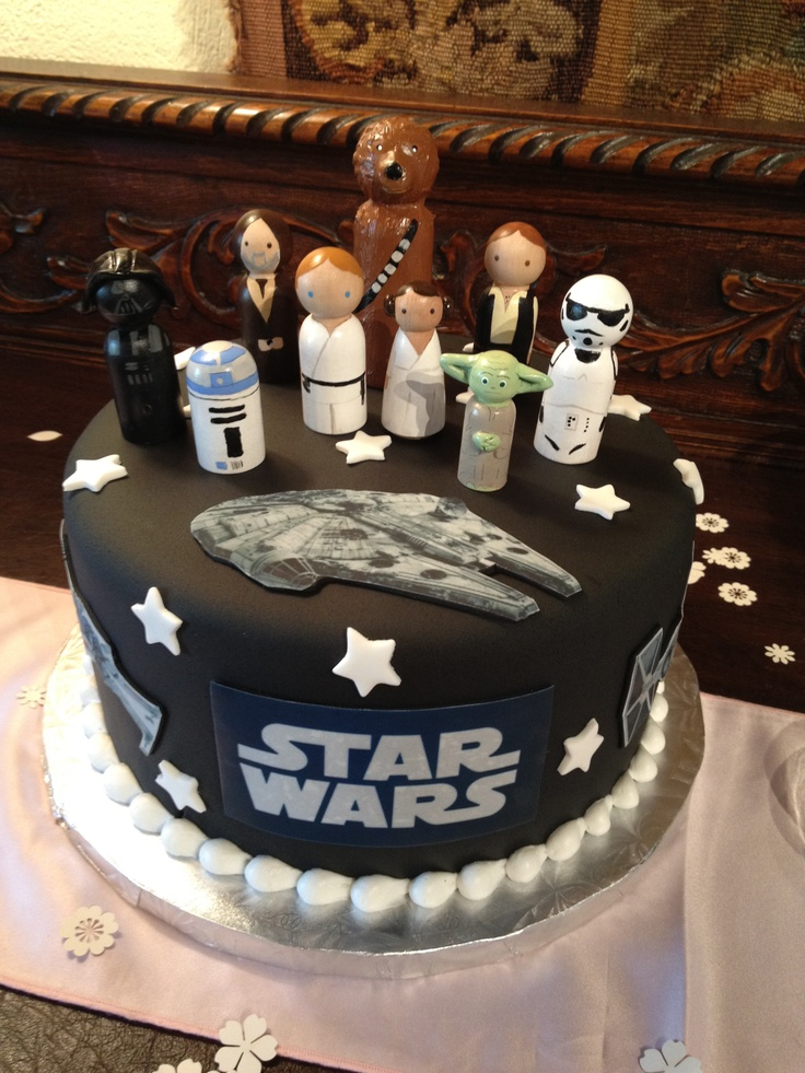 13 best lego star wars birthday cakes images on pinterest. Black Bedroom Furniture Sets. Home Design Ideas