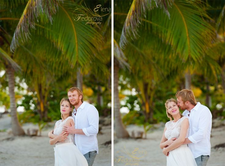 Sincere feelings are always beautiful. Riviera Maya wedding photographer.