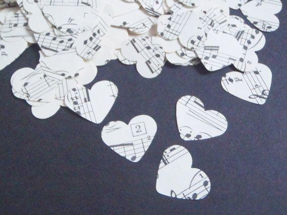 300 music vintage heartsheet music paper by LaSoffittaDiSte