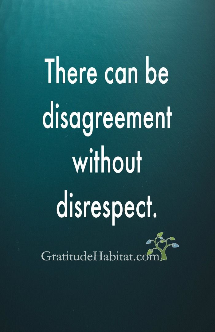 Respect always.  Visit us at: www.GratitudeHabitat.com #respect #GratitudeHabitat