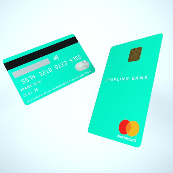 Challenger starling now has vertical bank card with