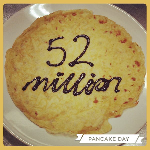 the creative writing a million pancakes Want to put your favourite recipe down on paper our kitchen team of cookery experts have shared some of their best hints and tips for the creative process.