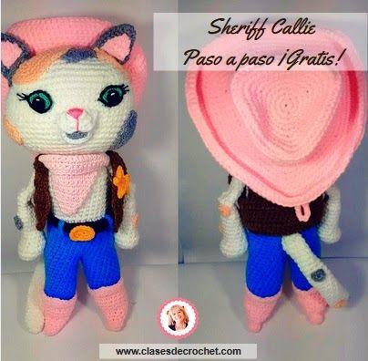 Sheriff Callie Crochet: paso a paso gratis el amigurumi más preciado de Lindo Rincón Amistoso