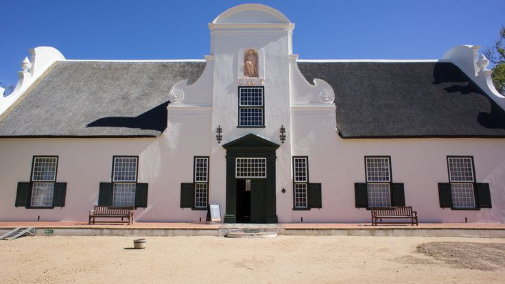 Cape Dutch architecture. I want to have illustrated buildings that have this look and feel as to reflect the heritage of Constantia & its winelands