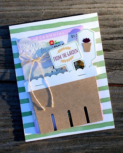 Another way to use the Berry Basket Bigz Die for a special 3-D card! ~ Cindy Schuster