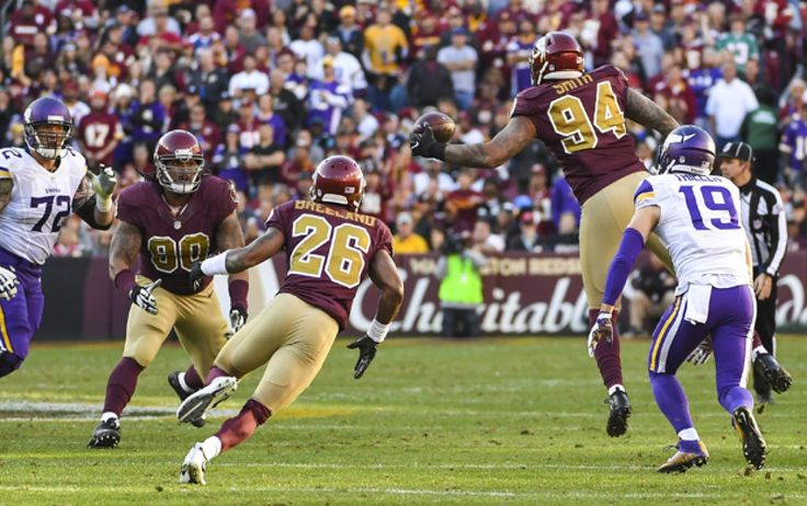 Why the Redskins? defense took a huge step forward against the Vikings