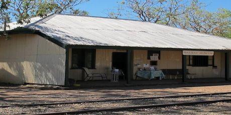 Railway Station Pine Creek - NT
