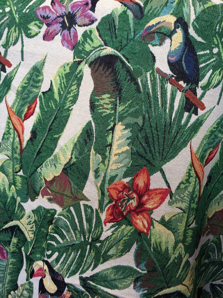 Tapestry - Toucans.  A colourful option!