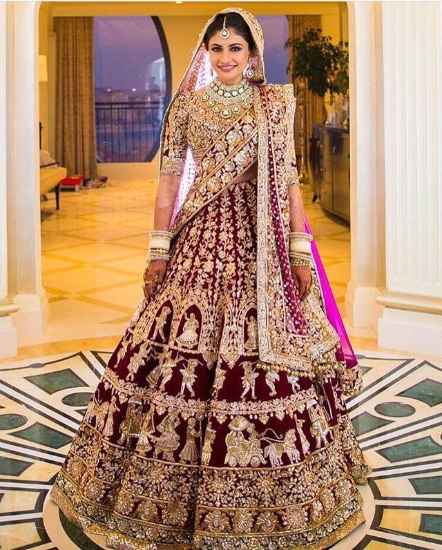 This gorgeous Manish Malhotra bride. Too gorgeous