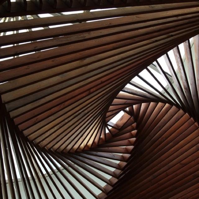Ceiling. Museum in Turkey
