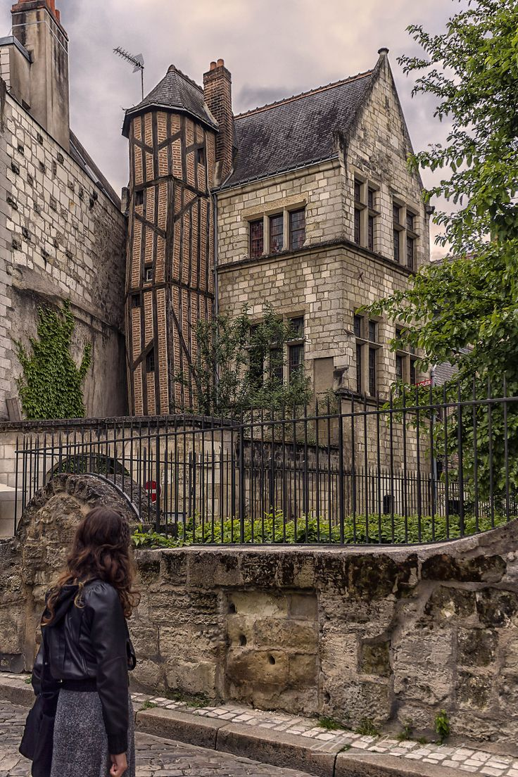 A street in Tours France by *hubert61 on deviantART
