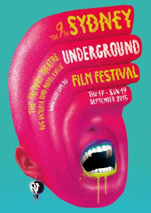 Sydney Underground Film Festival 2015 #festival https://fr.pinterest.com/igreka2n/festival/