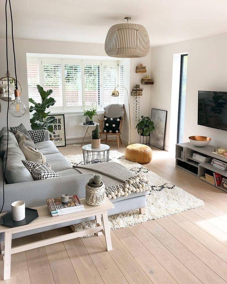 """ENTERIJER / DIZAJN 🏠 auf Instagram: """"😍⭐💞 😍⭐💞 von Lucy Whitehouse. . . . . . . . . #Wohnzimmerdesign #Wohnzimmerdekor #Wohnzimmerweethome – Eline de Jong"""