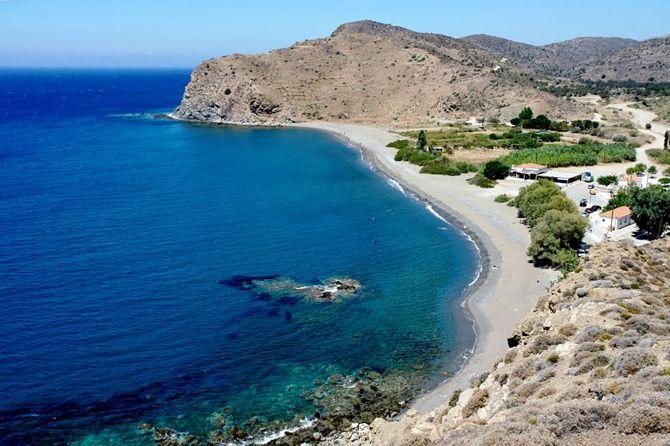Agia Markela beach, Chios Island
