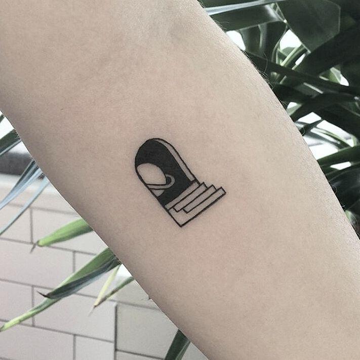 Portal To The Space Tattoo Tattoos Mini Tattoos Space Tattoo